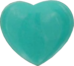 Turquoise Heart - Version 2