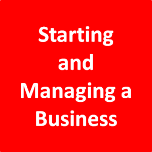 Starting and Managing a Business
