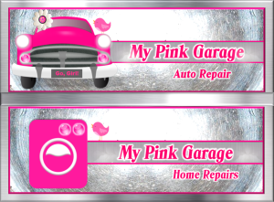 My Pink Garage Auto Repair and Home Repairs Image - Combined
