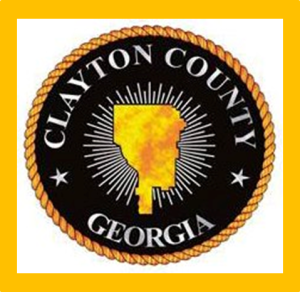 Clayton County Tax Commissioner's Seal