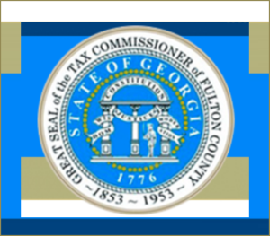 Fulton County Tax Commissioner's Seal