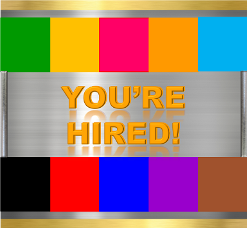You're Hired - Background Image